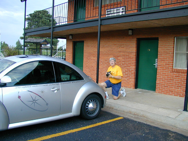 06/17/04: chamber of commerce photographs spacepod
